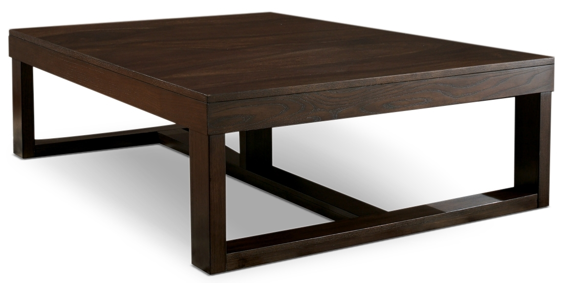 Impressive Best Dark Brown Coffee Tables Inside Watson Coffee Table The Brick (View 6 of 50)