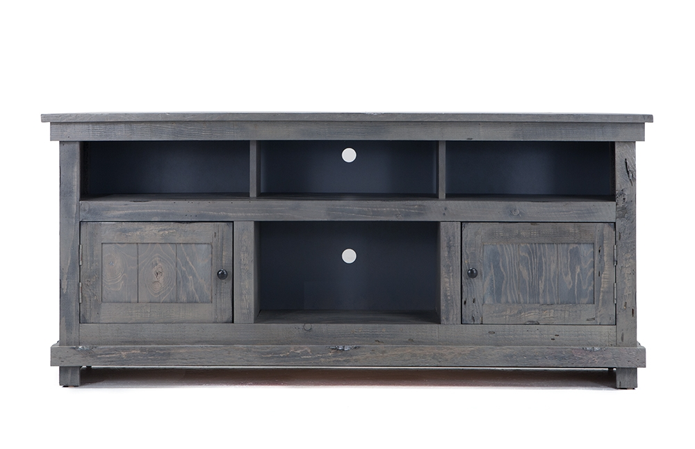 Impressive Best Grey TV Stands Intended For Sawyer Tv Console Bobs Discount Furniture (Image 29 of 50)