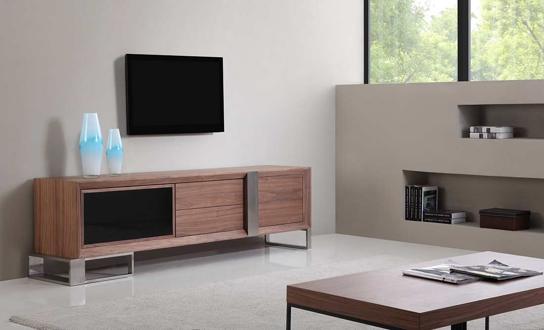 Impressive Best Long Black TV Stands Within Extra Long Modern Tv Stand Bm 36 Tv Stands (View 10 of 50)