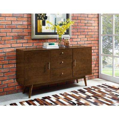 Impressive Best Modular TV Stands Furniture Intended For Dark Brown Wood Tv Stands Living Room Furniture The Home Depot (View 36 of 50)
