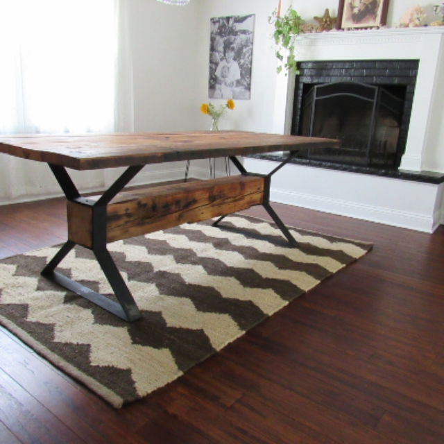 Impressive Best Rustic Barnwood Coffee Tables Pertaining To Reclaimed Wood Furniture And Barnwood Furniture Custommade (View 27 of 50)