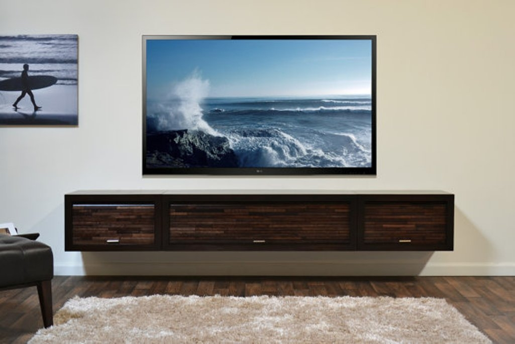 Impressive Best Stylish TV Cabinets Pertaining To Floating Media Cabinet Floating Tv Cabinet Ideas Interior (Image 30 of 50)