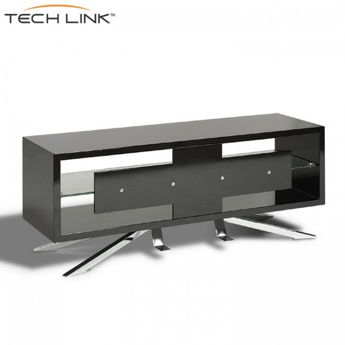 Impressive Best Techlink Arena TV Stands In Techlink Aa110b Arena Piano Gloss Black Tv Stand  (Image 24 of 50)