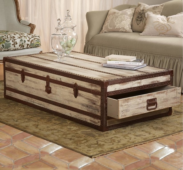 Impressive Best Trunk Chest Coffee Tables Throughout Rustic Chest Coffee Table Plans (View 17 of 50)