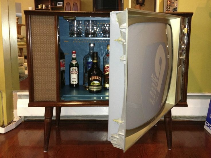 Impressive Best Vintage TV Stands For Sale Regarding Best 25 Vintage Tv Ideas On Pinterest Television Set (Image 18 of 50)