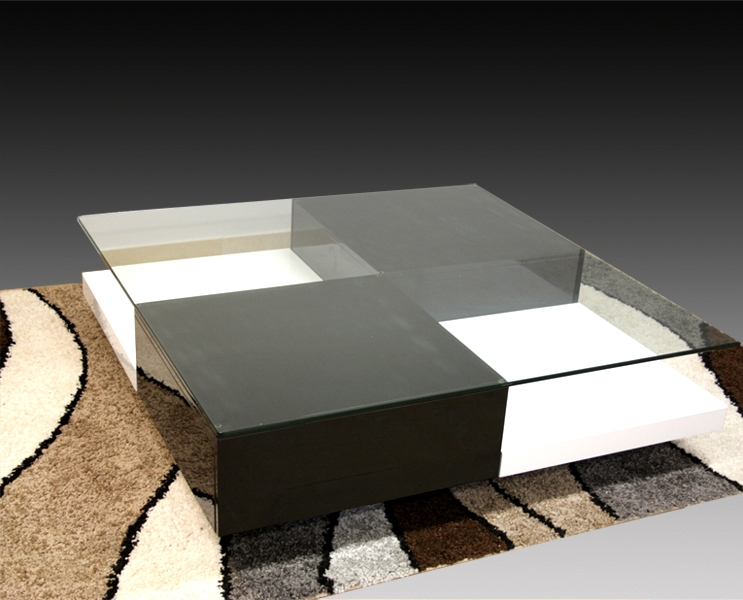 Impressive Best White And Black Coffee Tables Within Gorgeous Black And White Coffee Table With Beautiful Black And (Image 19 of 40)