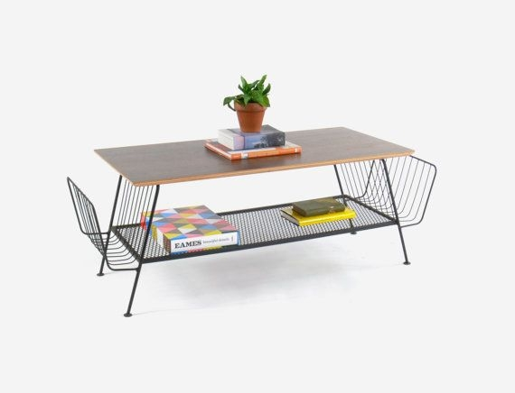 Impressive Brand New Coffee Tables With Magazine Rack For 199 Best Mid Century Wire Racks Images On Pinterest Wire Racks (Image 25 of 50)