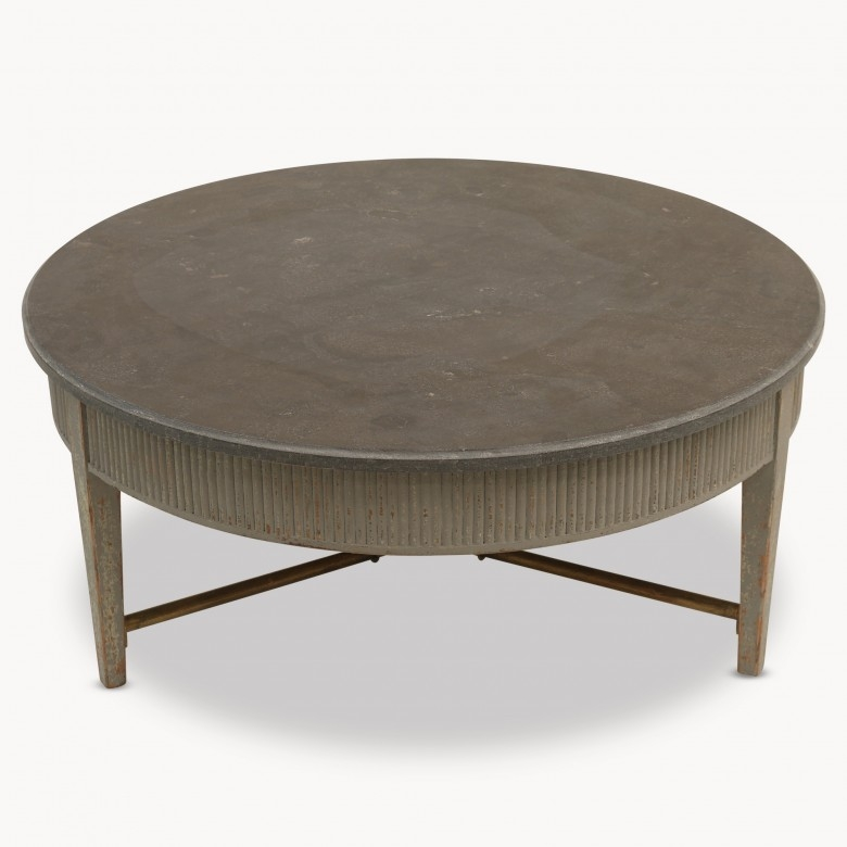 Impressive Brand New Colonial Coffee Tables Throughout Round Stone Coffee Table (Image 26 of 50)