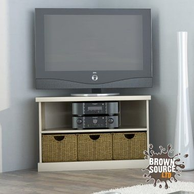 Impressive Brand New Cream Corner TV Stands Intended For 47 Best Corner Tv Unit Images On Pinterest Corner Tv Cabinets (Image 27 of 50)