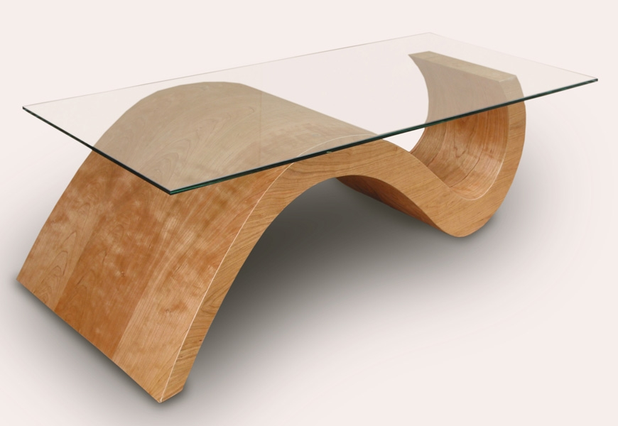 Impressive Brand New Curve Coffee Tables With Regard To Coffee Table 3 Henry Levine At Coroflot (Image 23 of 50)