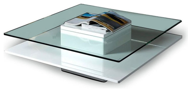 Impressive Brand New Glass Square Coffee Tables For Modern Glass Coffee Tables (View 26 of 50)
