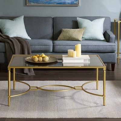 Impressive Brand New Madison Coffee Tables Within Madison Park Signature Turner Coffee Table Reviews Wayfair (View 27 of 40)