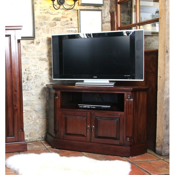 Impressive Brand New Mahogany TV Stands Furniture Inside Wooden Tv Cabinets Living Room At Wooden Furniture Store (Image 17 of 50)
