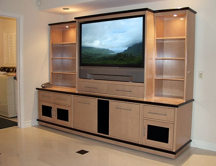 Impressive Brand New Modern TV Cabinets Designs Within 32 Best Lcd Tv Cabinets Design Images On Pinterest Living Room (Image 20 of 50)