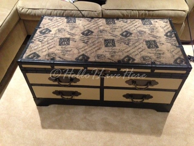 Impressive Brand New Old Trunks As Coffee Tables In Best 25 Old Trunks Ideas On Pinterest Trunks Decorative Trunks (Image 25 of 50)