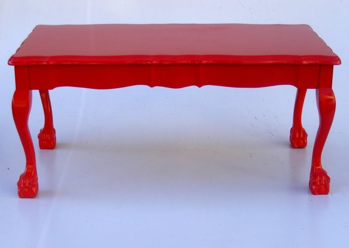 Impressive Brand New Red Coffee Table Intended For Modern Red Coffee Table Coffee Tables Table And Estate (Image 31 of 50)