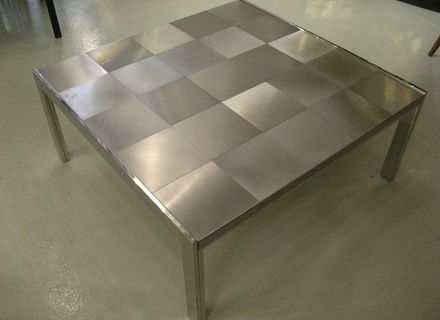 Impressive Brand New Stainless Steel Trunk Coffee Tables Pertaining To Coffee Table Advertisementssteamer Trunk Coffee Table Stainless (View 46 of 50)