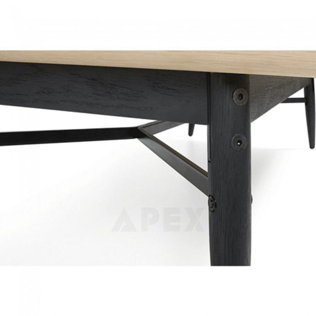 Impressive Common Ava Coffee Tables In Ava Coffee Table Top In White American Oak And Metal Barons (Image 24 of 50)