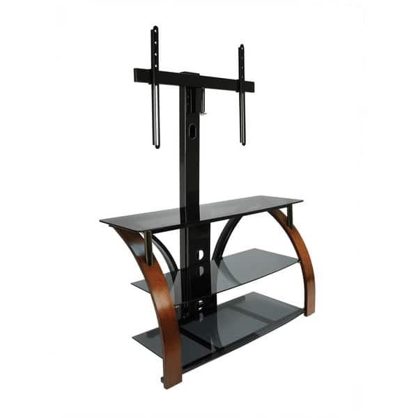 Impressive Common Bell'O Triple Play TV Stands With Regard To Bello Triple Play Tpc 2143 Universal Flat Panel Audiovideo Stand (View 12 of 50)