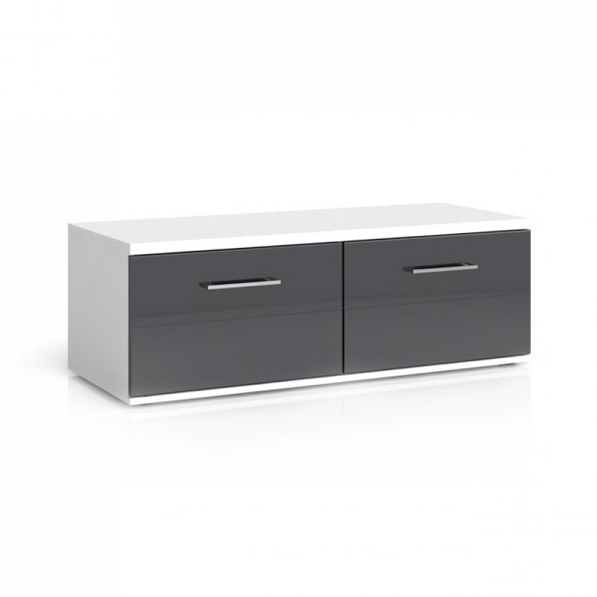Impressive Common Black TV Cabinets With Drawers In Avila 2 Drawers Tv Stand (Image 26 of 50)