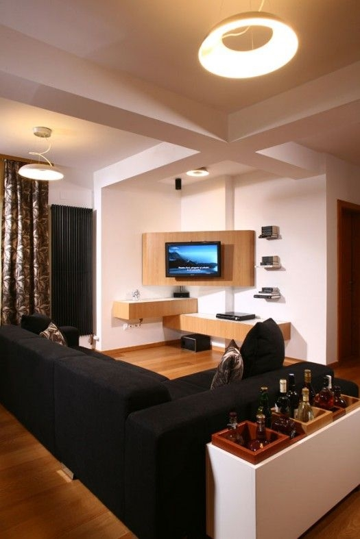 Impressive Common Corner TV Cabinets For 55 Inch Tv Regarding Best 25 Corner Tv Wall Mount Ideas On Pinterest Corner Tv (View 33 of 50)
