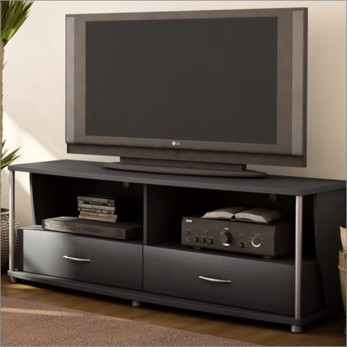 Impressive Common Espresso TV Cabinets Intended For City Life 50 Inch Tv Stand In Solid Black South Shore Furniture (Image 27 of 50)