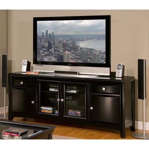 Impressive Common Expresso TV Stands For Living Room Brilliant Contemporary Commerce Espresso Finish Tv (Image 30 of 50)