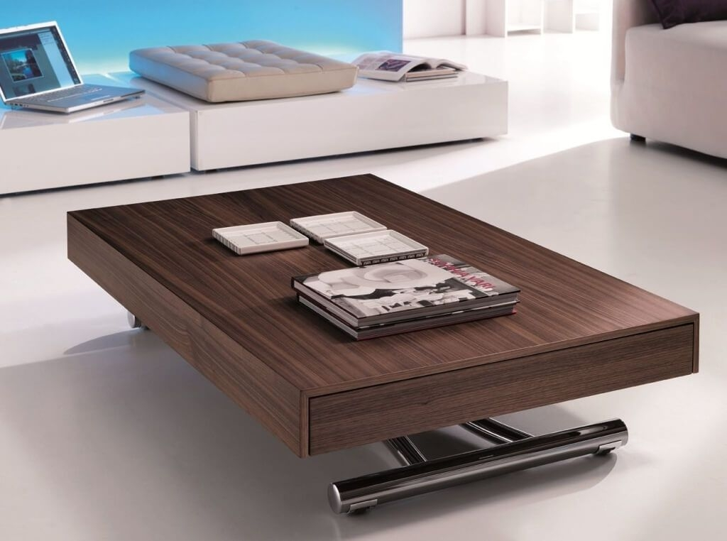 Impressive Common Extendable Coffee Tables Within Furniture Creative Oak Wood Extendable Coffee Table Interesting (View 5 of 40)