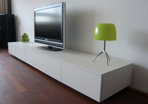 Impressive Common Long White TV Cabinets In Tv Cabinet Keko Furniture (Image 23 of 50)