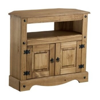 Impressive Common Pine TV Cabinets Intended For Birlea Corona Corner Tv Cabinet Waxed Pine Amazoncouk (Image 20 of 50)