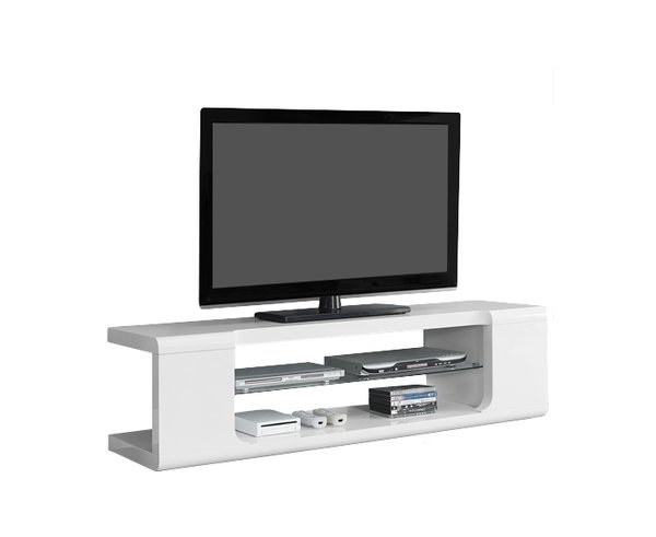Impressive Common Smoked Glass TV Stands Intended For Modern Glass Tv Stands Entertainment Centers Allmodern (View 33 of 50)