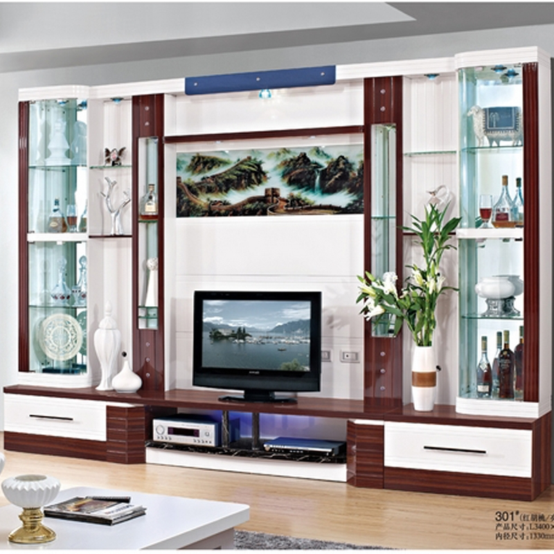 Impressive Common Wall Display Units & TV Cabinets Regarding Wall Display Display Cabinet Fancy Project On Peacesource (View 30 of 50)
