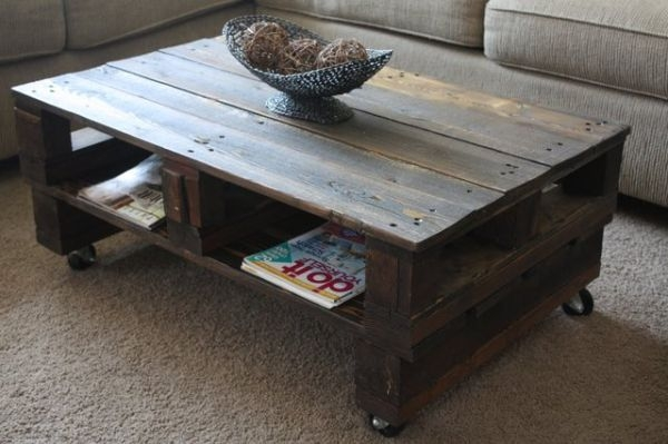 Impressive Deluxe Dark Wooden Coffee Tables Pertaining To Cool Dark Coffee Table (Image 26 of 50)