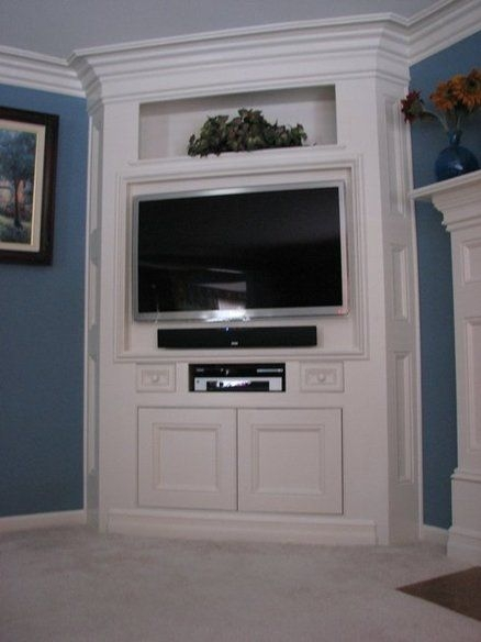 Impressive Deluxe Enclosed TV Cabinets For Flat Screens With Doors With Best 25 Corner Tv Cabinets Ideas Only On Pinterest Corner Tv (Image 31 of 50)