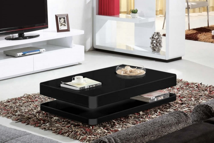 Impressive Deluxe Gloss Coffee Tables In Creative Gloss Coffee Table With Additional Home Interior Redesign (View 13 of 50)