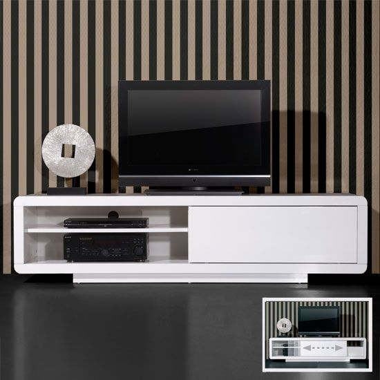Impressive Deluxe Gloss TV Stands Within Best 20 White Gloss Tv Unit Ideas On Pinterest Tv Unit Images (Image 30 of 50)