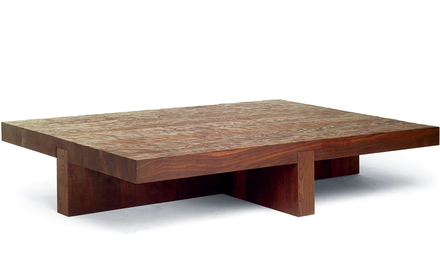 Impressive Deluxe Low Rectangular Coffee Tables In Lowtide Coffee Table Hivemodern (View 44 of 50)