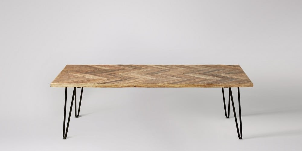 Impressive Deluxe Mango Wood Coffee Tables In Adriel Mango Wood Coffee Table Swoon Editions (Image 21 of 50)