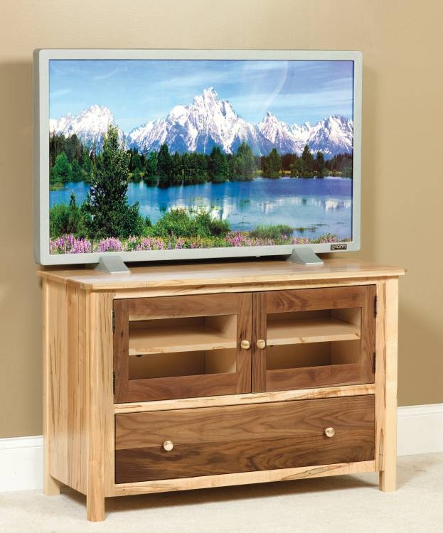 Impressive Deluxe Maple Wood TV Stands Intended For View Item Amish House Bend Or (View 20 of 50)
