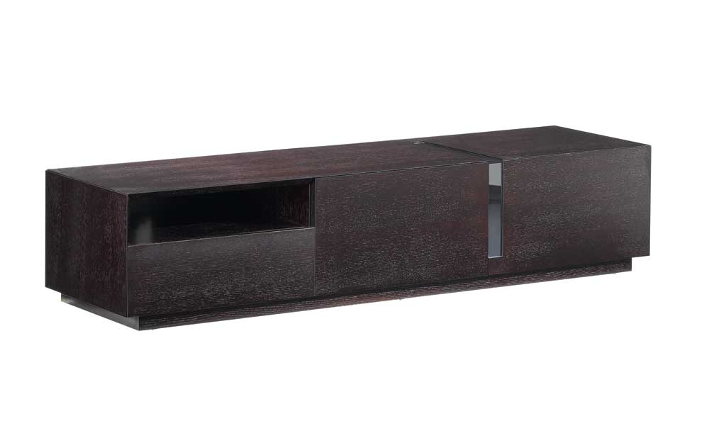 Impressive Deluxe Modern Wood TV Stands Within Tv027 Dark Oak Tv Stand J M Furniture (Image 26 of 50)