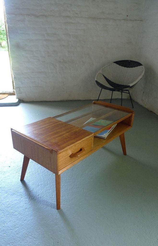 Impressive Deluxe Retro Oak Coffee Tables For G Plan Gomme 50s Coffee Table Brandon Range Oak Mid Century Retro (View 44 of 50)
