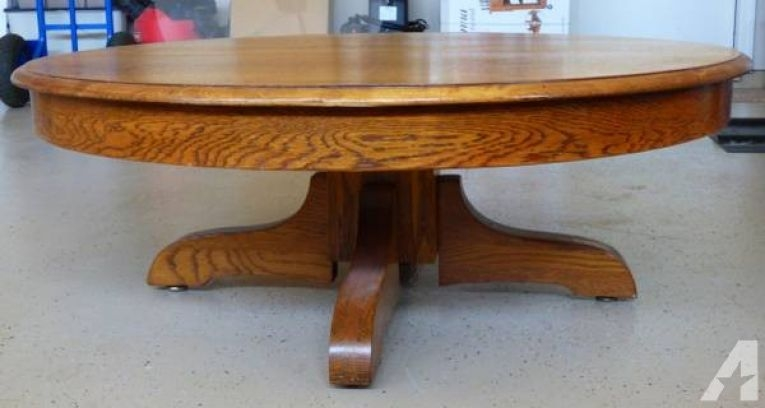 Impressive Deluxe Round Oak Coffee Tables With Regard To Top 22 Old Round Coffee Tables Old Round Coffee Tables In Round (Image 22 of 40)