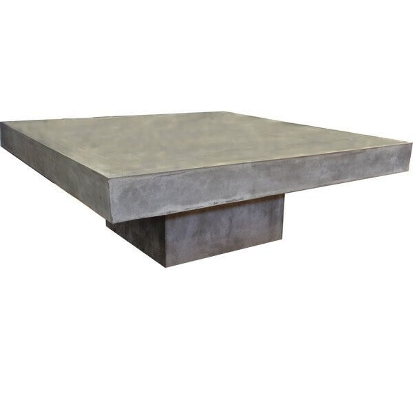Impressive Deluxe Square Low Coffee Tables In Low Coffee Tables Steel Concrete Wood Mathi Design (Image 23 of 50)