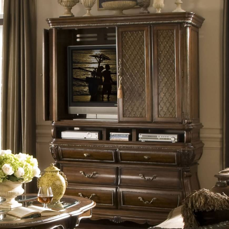Impressive Deluxe TV Stands Cabinets Pertaining To 16 Types Of Tv Stands Comprehensive Buying Guide (View 30 of 50)