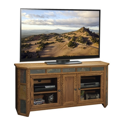 Impressive Deluxe TV Stands In Oak Within Legends Furniture Oak Creek 62 Tv Stand Reviews Wayfair (Image 24 of 50)