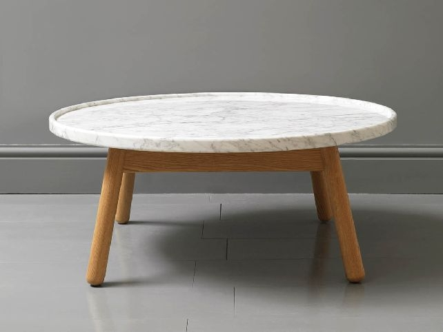Impressive Deluxe White Circle Coffee Tables In Round White Gloss Coffee  Table (Image 22 Of