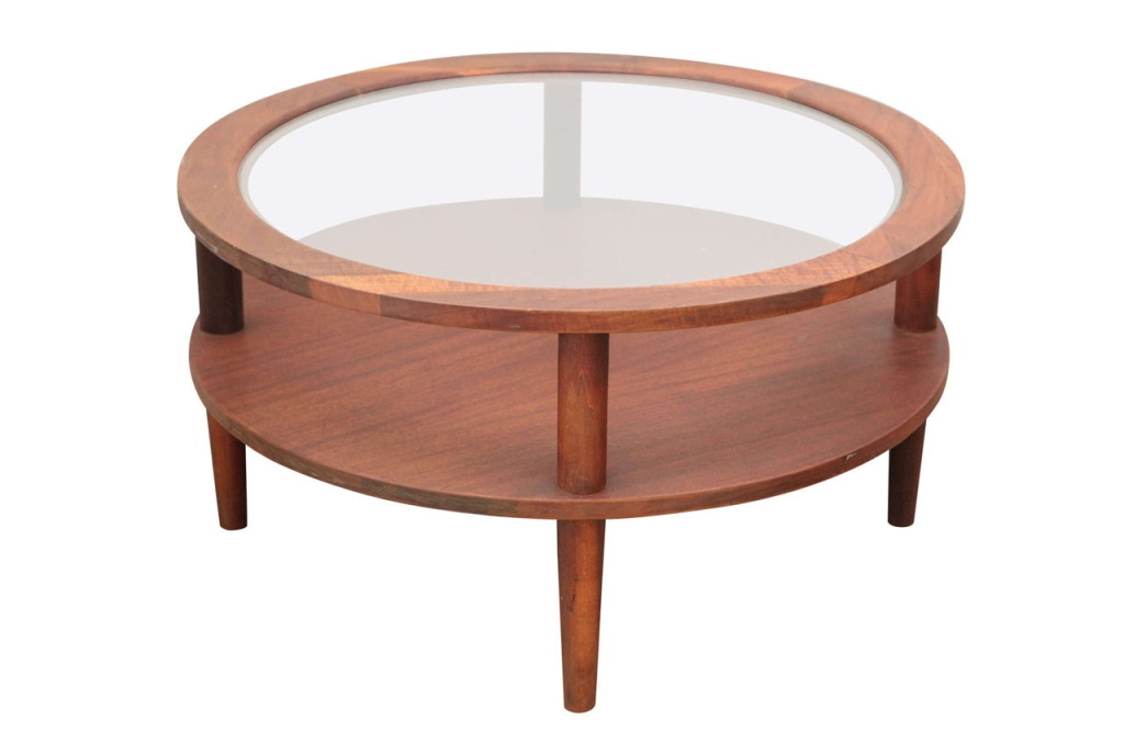 Impressive Elite Antique Glass Top Coffee Tables In Round Glass Top Coffee Table (View 21 of 50)