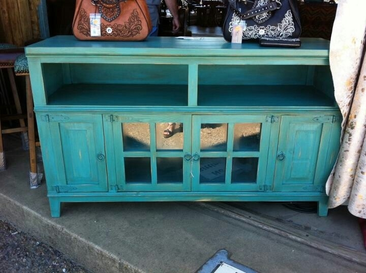Impressive Elite Blue TV Stands Throughout 15 Best Turquoise Tv Stand Images On Pinterest Tv Stands (View 17 of 50)