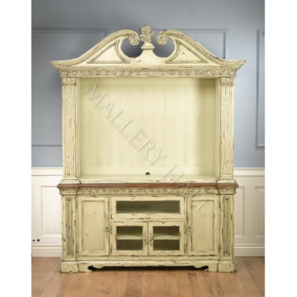 Impressive Elite French Country TV Cabinets Pertaining To Mahogany French Country Tv Cabinet Parchment (Image 32 of 50)