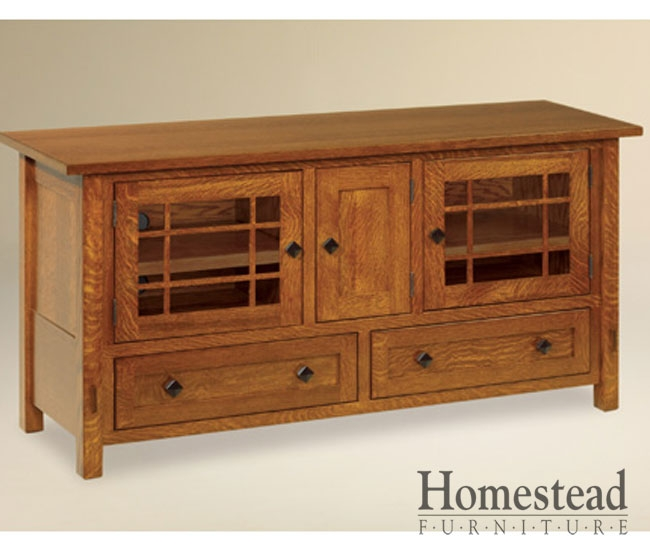 Impressive Elite Hardwood TV Stands With Regard To Custom Built Hardwood Furniture Homestead Furniture Made In Usa (Image 31 of 50)
